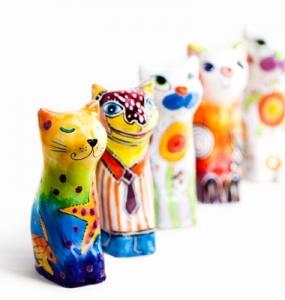 Serie Keramikbunt 1 by Robert Tober, Symbolfoto