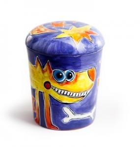 Urne Keramikbunt 2 by Robert Tober, Symbolfoto
