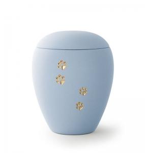 Sienna-Urne-blau